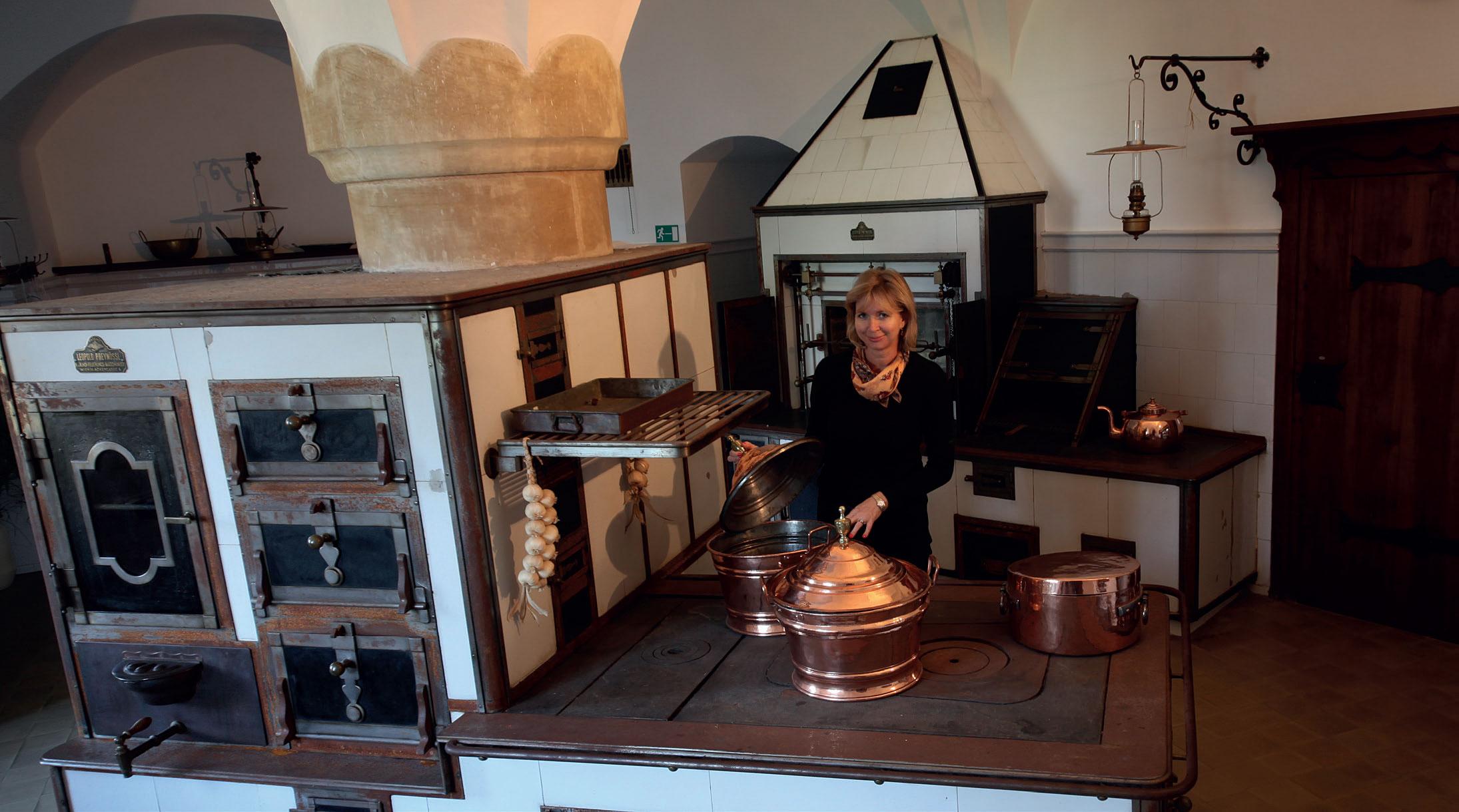 Hradní kuchyně, Bouzov
